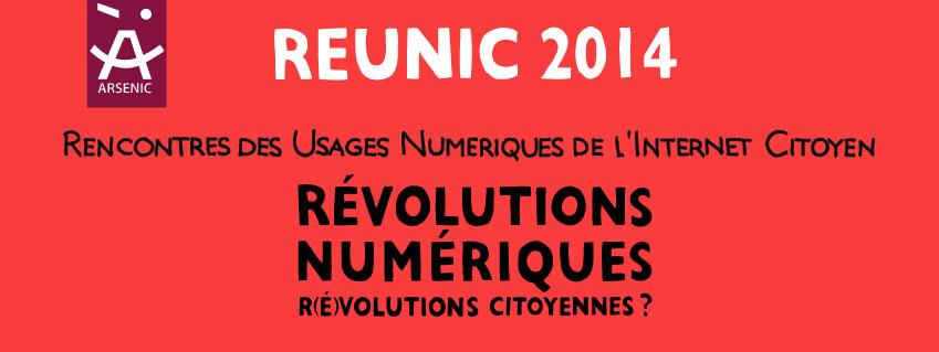 RevCamp Lire, écrire, coder lors des rencontres REUNIC 2014