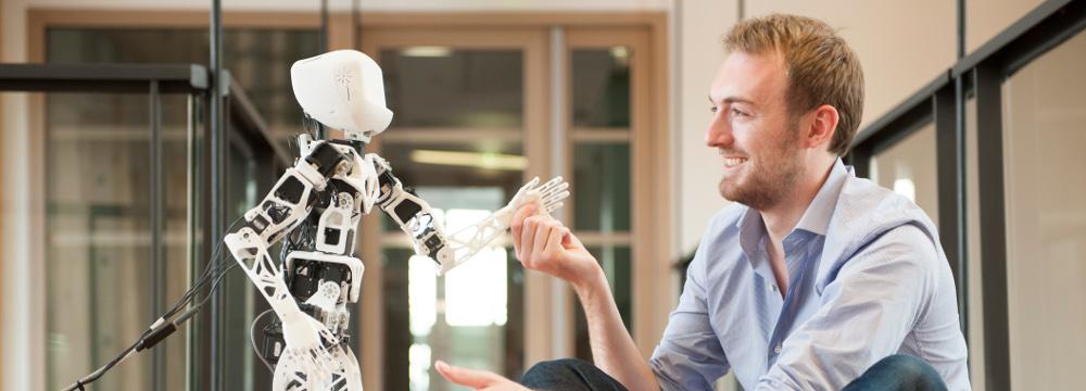 Le robot humanoïde open source Poppy sera la star de la soirée #Geekbidouille du 23 janvier